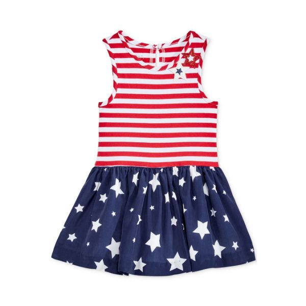 Picture of Stripes Drop-Waist Dress