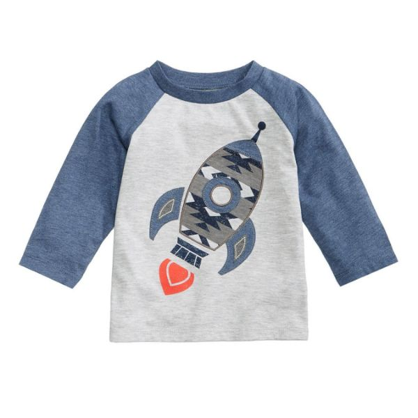 Picture of Print-Layered Cooton T-Shirt