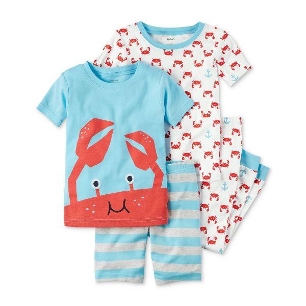Picture of 4-Piece Cotton Pajama Set