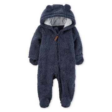 Picture of Hooded Fleece Jumpsuit