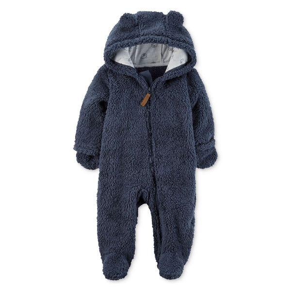 Picture of Hooded Fleece Jumpsuit