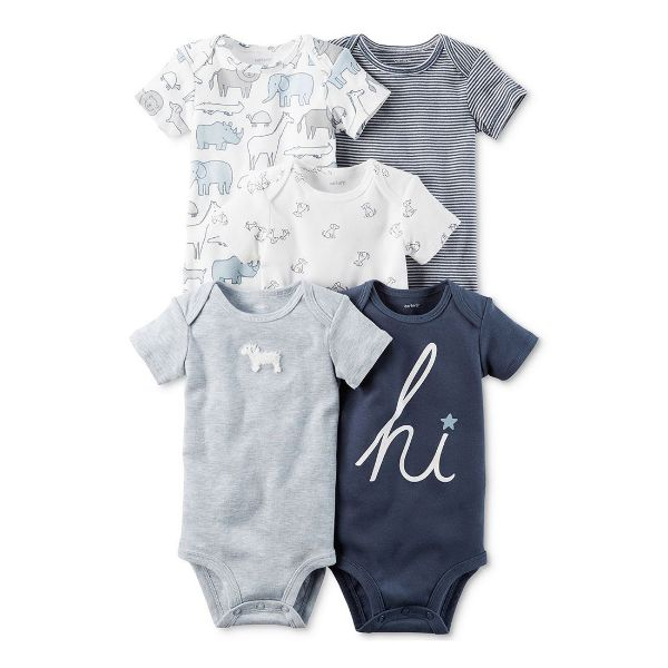 Picture of Snap-Up Cotten Romper